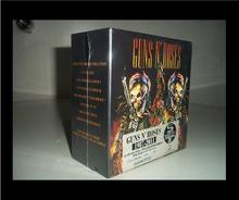 Perfect product phase free shipping guns N 'rose rose rock 9 CD  set box full collection factory sealed limited edition se