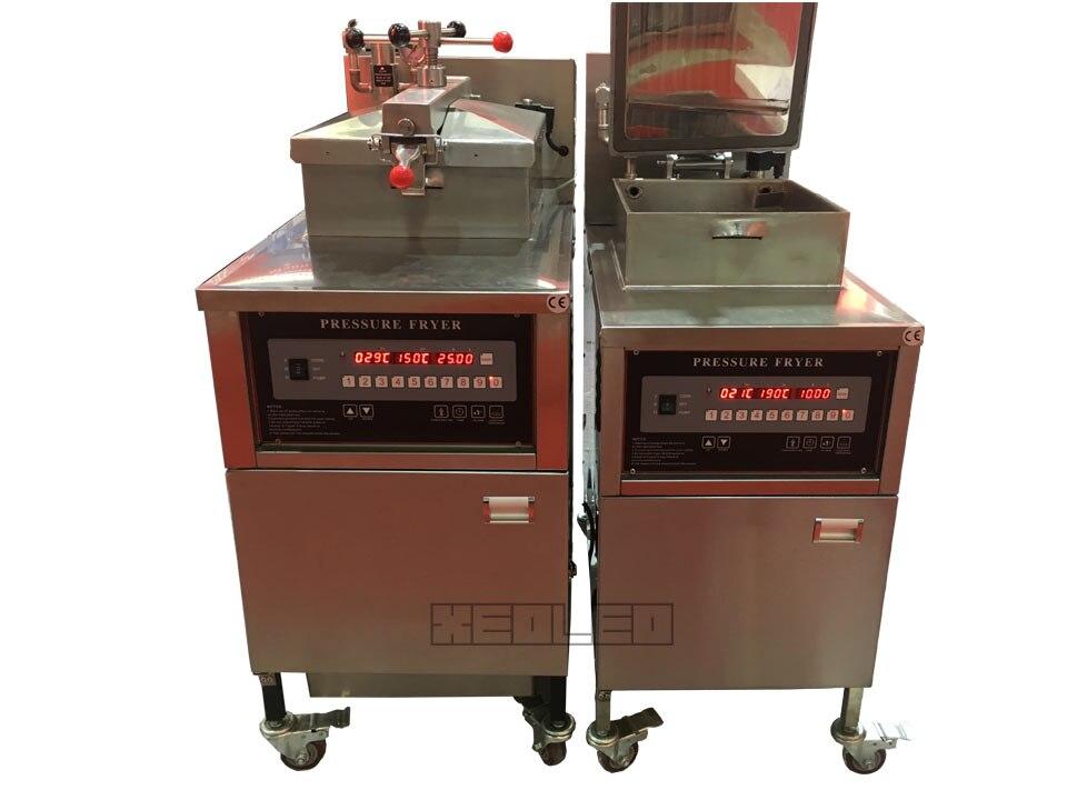 Gas computer pressure fryer (9)