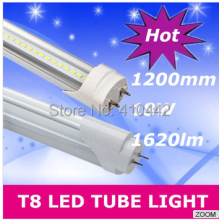 FedEX or UPS Free shipping 30pcs/lot 20W 1200MM T8 LED Tube High brightness Epistar SMD2835 25LM/PC 110led/PC 2400LM AC85-277V