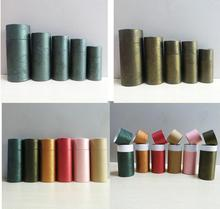 50ml oil bottle packaging kraft Paper cans cylinder Packaging Box DIY Lipstick Perfume Essential packing tube paper box