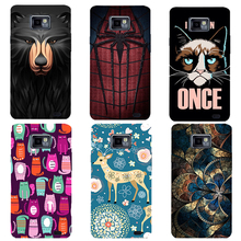 Fashion Puro Cartoon UV Printing Case For Samsung Galaxy S2 SII GT I9100 Cover Unique Design Phone Back Shell