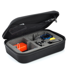 Portable Carry Case Small Medium Large Size Accessory Anti-shock Storage Bag for Gopro Hero 3/4 Sj 4000 XiaomiYi