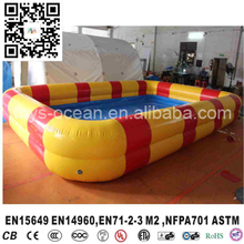 Custom Size inflatable donut pool inflatable water pool for kids(China)