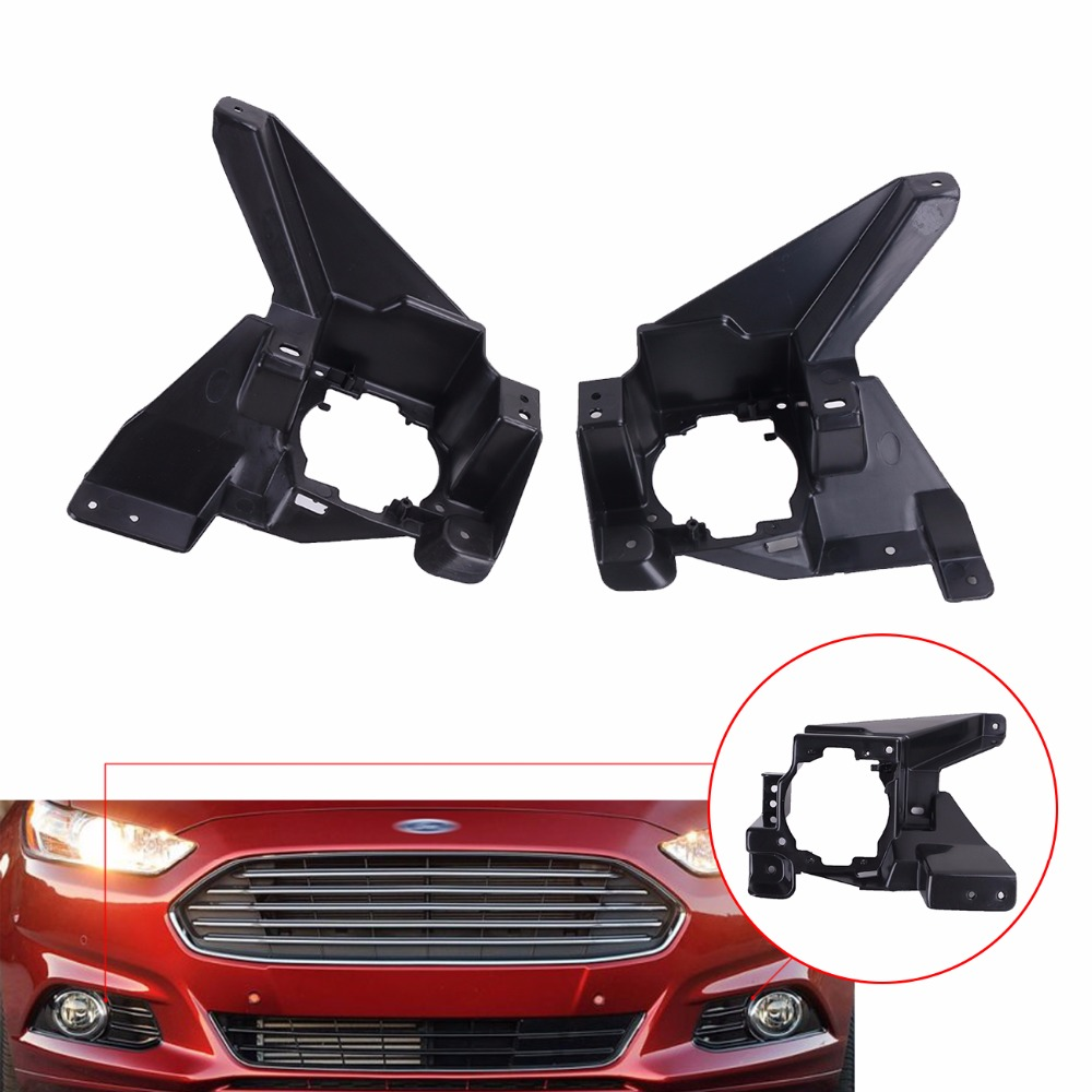 Front Fog Lamp stents Light support For Ford Mondeo Fusion Energi SE 4Cyl Titanium 2013 2014 2015 2016 //<br>