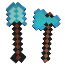 Minecraft Toys Foam Diamond Axe Shovel Sword Pickaxe EVA Minecraft Toy Weapons Model Brinquedos for Kids Gifts
