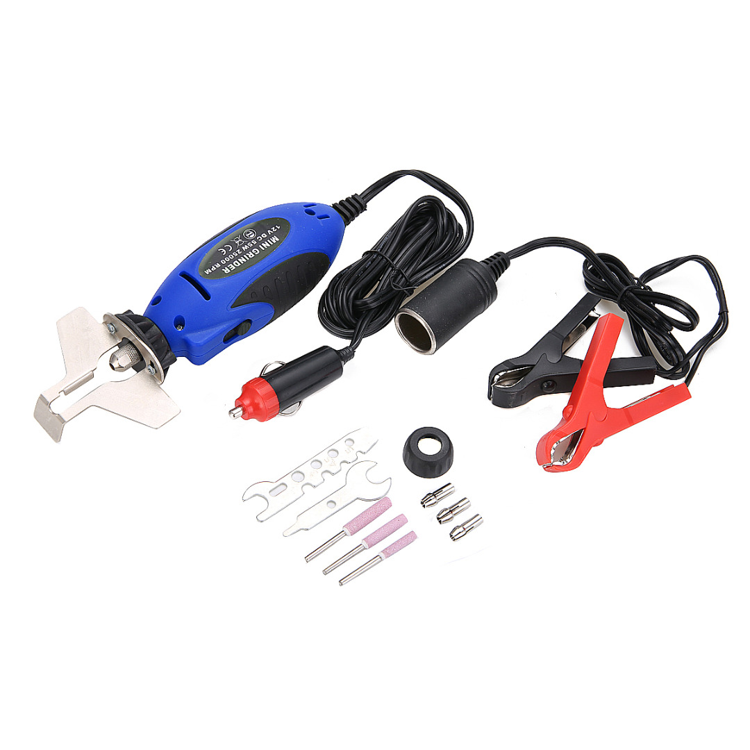 Handheld Chainsaw Sharpener 12V Electric Saw Filing Chainsaw Chain Sharpener for Garden Tool Parts