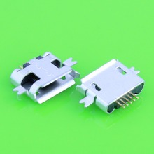 10 pcs 5pin socket micro-usb connector, SMD 2 fixed feet, widely used in tablet, mobile phones and PDA