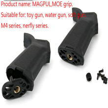 MOE grip NERFly/m4a1 soft projectile accessories Water Elastic tactical triangle front grip(China)