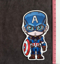 Captain America PVC Car Skateboard Laptop Luggage Vinyl Sticker Graffiti Laptop Bumper Stickers Buy 3 Free 1(China)