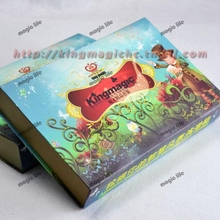 Magic collection 8 props children present DVD English instruction Gift box package magic tricks magic sets