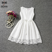 Summer Children's Girl Dresses Little Girl Party Wear Lace Dress Baby Girl Clothes Infant Princess Costume for Kids 6 8 10 Years