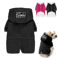 Hot Winter Dog Clothes Waterproof Pet Puppy Coat Jacket Thick Chihuahua Clothing For Small Medium Large Dogs S M L XL XXL Pink(China)