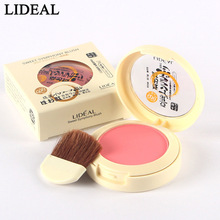 LIDEAL New 8 Colors Blush Soymilk Matte Pearl Rouge Blush High Quality Make Up Face Blusher
