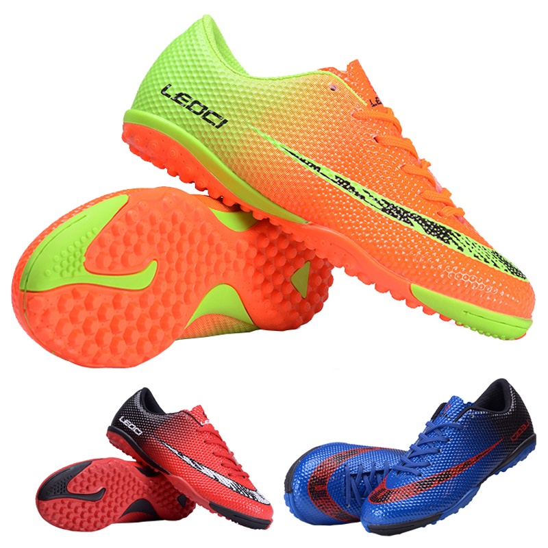 LEOCI Football Shoes boots Unisex Soccer Boot Football Boots indoor football shoe for adult childrens 33-44 size Train Sneakers<br><br>Aliexpress