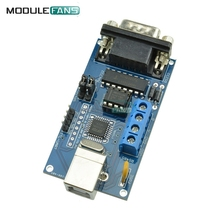 Adapter Converter Module USB to Serial RS232 UART TTL RS485 DB9 Adapter Converter Module FTDI FT232BM/BL(China)