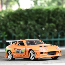 JADA 1:32 scale High simulation alloy model car,1995 TOYOTA SUPRA,2 open door,quality toy models,free shipping(China)