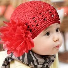 2017 Headwear Hat  Flower Toddlers Cute  Girl Lace Hair Band Headband Headwear Hat Crochet