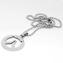 YimYik new fashion Game Overwatch Necklace Pendant Entertainment Logo Holder overwatch Pendant necklace for lovers jewelry