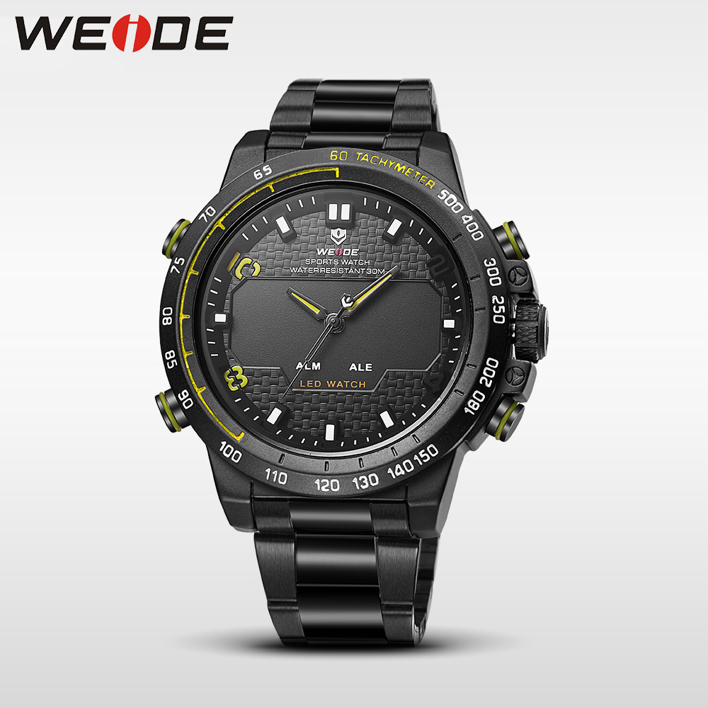 WEIDE genuine watches mens watches brand luxury sport led digital shockproof waterproof watch quartz watch military alarm clock<br>