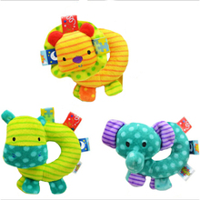 Animal Soft Baby Handbell Newborn Toys Cartoon Toy With Learning And Eductional For 0-12 Months - BYC099 PT49