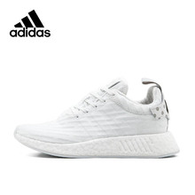 Adidas New Arrival Authentic Originals NMD R2 BOOST Breathable Women's Running Shoes Sports Sneakers BY2245(China)