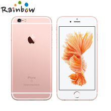 "Original Apple iPhone 6s iOS Dual Core 2GB RAM 16GB 64GB 128GB ROM 4.7"" 12.0MP Camera 4G LTE Mobile Phone(China)"