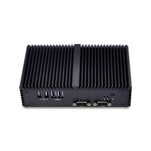 Hottest 3215U Dual core 1.7G  6 RS232 RS485 3 output  industrial Mini pc Support Win 7 Win 8 Win 10 Linux