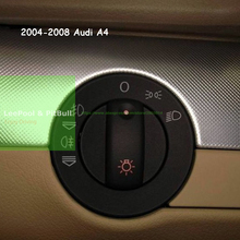 Free shipping Headlight Fog Light Switch Repair Kit Cover For Audi A4 2004/2005/2006/2007/2008