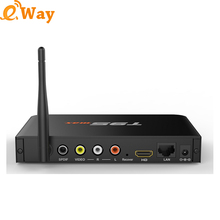 5pcs/lot DHL T95max 2GB 32GB Amlogic S905 Smart Android TV BOX 2.4G/5GHz Dual band WiFi BT4.0 Media player Network TV BOX(China)