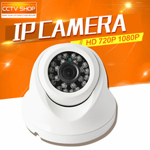 2MP 1.0MP Outdoor Dome IP Camera 1080P 720P CCTV Surveillance Network Camera IR 20m Supports PC iPhone Android XMEye APP View