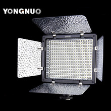Yongnuo YN-300 LED Camera Video Light Lamp Illumination Dimming Photography Light for Canon Nikon Camera + Remote Control(China)