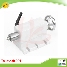 CNC Tailstock 001 for Rotary Axis, A Axis, 4th Axis, CNC Router Engraver Milling Machine