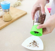 Manual Glass and ceramic Manual Pepper Salt Spice Mill Grinder Stick Kitchen Tool Cooking Tools Kitchen Accessaries