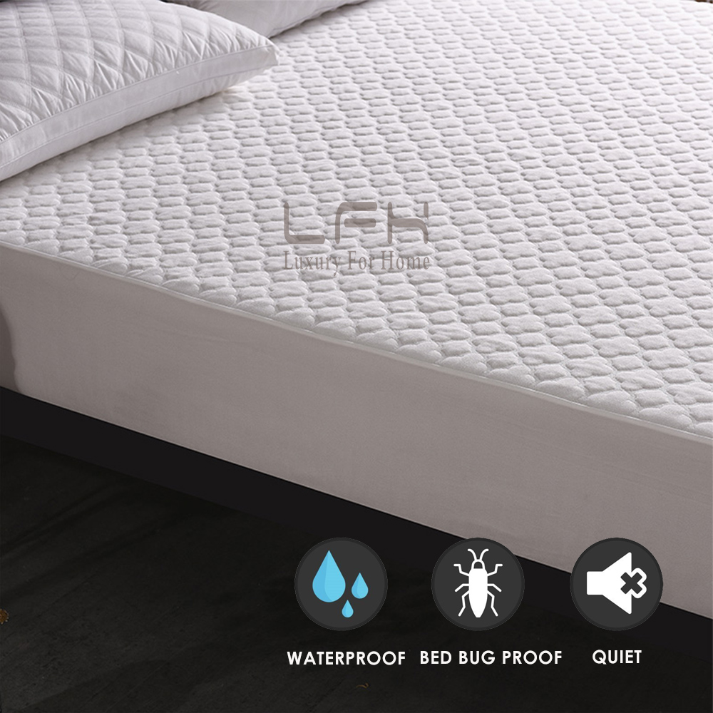 jacquard cloudy mattress pad cover (3)