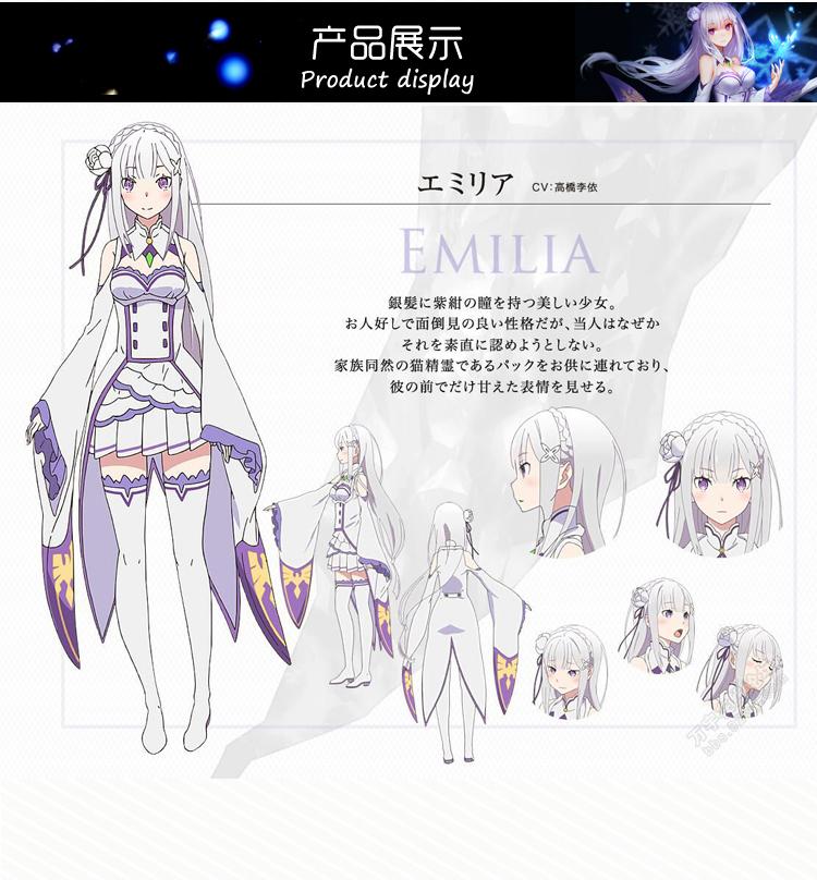 DB24203 Re Zero kara Hajimeru Isekai Seikatsu Emilia-11