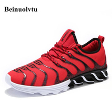 2017 Autumn Winter Running shoes for Men Sport shoes Outdoor Sneakers Boys Size 39-44 Trainers Tennis Walking Wild Sneakers Cool(China)