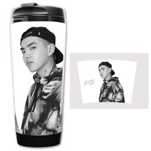 HOT SALE Wu queer KRIS Models Double Insulation Plastic Good Quality Mug Coffee Cup Space Cup BZ805