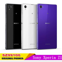 Original Sony Xperia Z1 C6903 5.0'' WIFI 3G  Smart Mobile phone Quad Core Cell Phone  refurbished