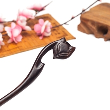 Seductive Fox andalwood Hairstick for Ethnic women Fashion Hair Jewelry Headwear Hairpin Women Head jewelry Gift