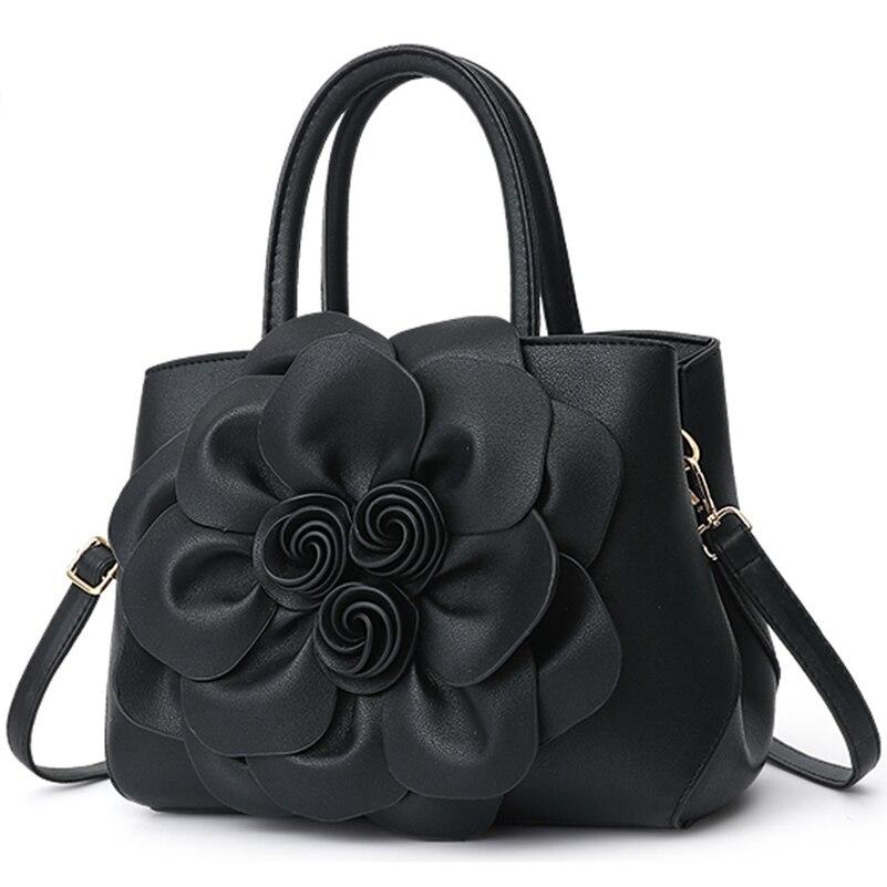Nevenka Handbag Women Floral Handbags Small Shoulder Bags Leather Crossbody Bag for Women Handbags Purses and Handbags 201814