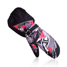 Dropshipping Children Thermal Utral Long Waterproof and Windproof Baby Boys Ski Snow Gloves Running gloves winter gloves girls(China)