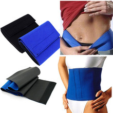 Neoprene Waist Trimmer Sweat Fat Cellulite Body Leg Slimming Shaper Exercise Wrap Belt Body Slimming Belt waist support(China)