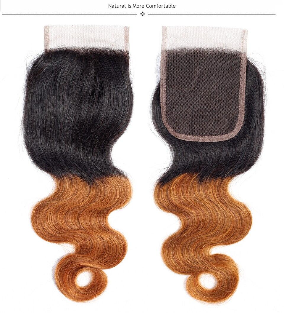 brazilian virgin hair with closure