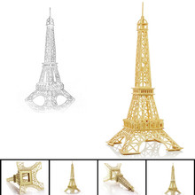 Eiffel Tower 3d jigsaw puzzle toys wooden adult children's intelligence toys(China)