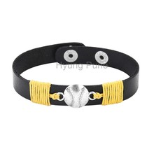 6pcs/lot! Wholesale Jewelry Adjustable Sport Team Pittsburgh Baseball Charm Bracelet Fahion Custom Wristband Cuff For Women Men