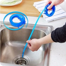 Shower Drain Hair Catcher Stopper Clog Sink Strainer Bathroom Sewer Clean Filter Strap Pipe Hook kitchen tub pine toilet(China)