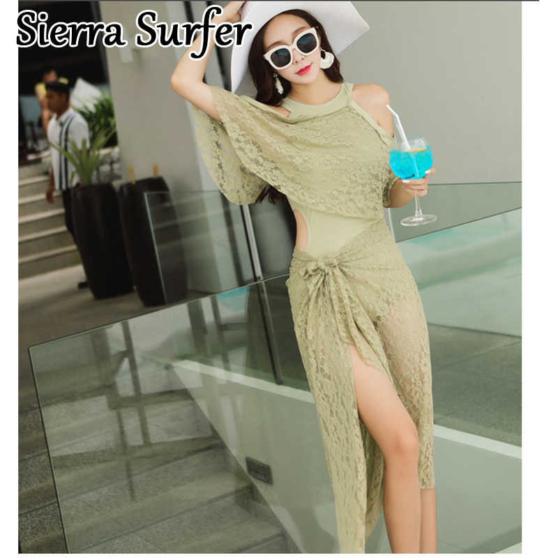 Cheap Sexy Bathing Suits Plavky Girls Plus Size Swimwear Large Swimsuits New 2018 Swimsuit Triangle With Veil Pure Color Suit<br>