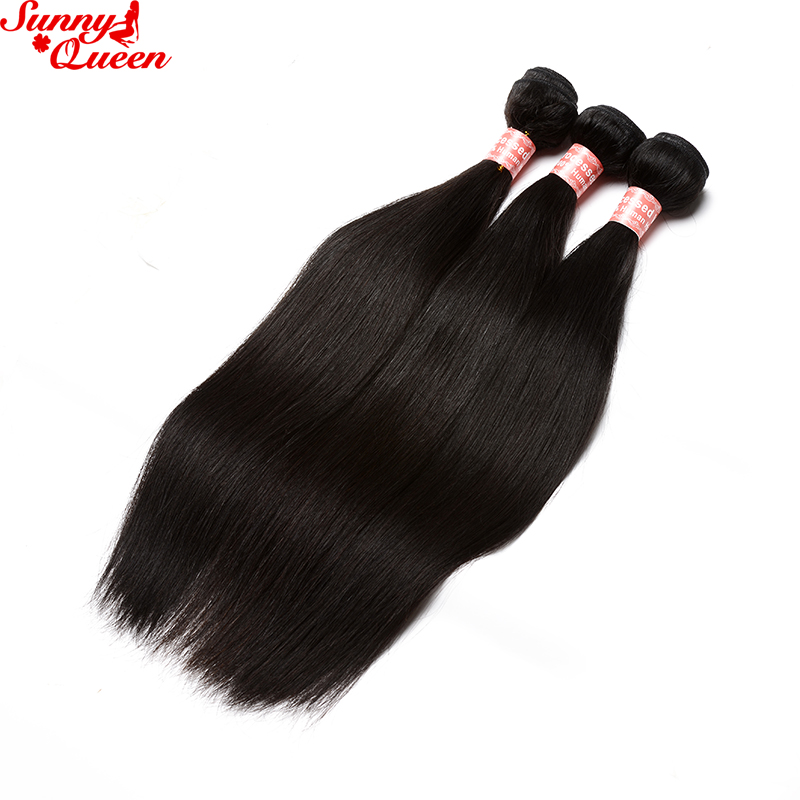Pre-Plucked-360-Lace-Frontal-Closure-With-Bundles-4-Pcs-Sunny-Queen-Products-Brazilian-Remy-Human