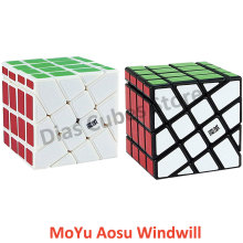 MoYu AoSu Crazy Windmill 4x4 Speed Cube Hot Wheel 4x4 Odd Magic Cube