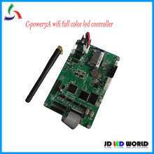 C-power31A WIFI wireless RGB full color led advertising display screen controller card(China)